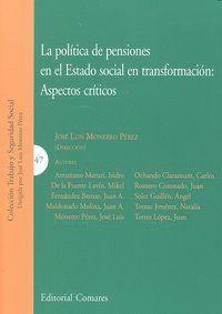 POLITICA PENSIONES ESTADO SOCIAL TRANSFORMACION ASPECTOS CRI