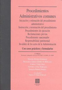 PROCEDIMIENTOS ADMINISTRATIVOS COMUNES 2ªED