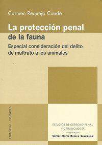 PROTECCION PENAL DE LA FAUNA,LA