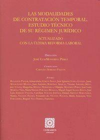 MODALIDADES DE CONTRATACION TEMPORAL ESTUDIO TECNICO REGIMEN