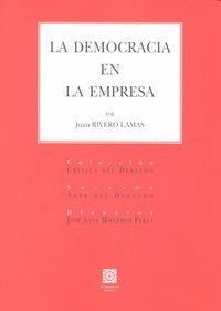 DEMOCRACIA EN LA EMPRESA,LA