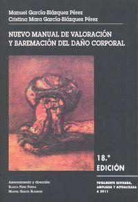 NUEVO MANUAL VALORACION Y BAREMACION DAÑO CORPORAL 18ªED