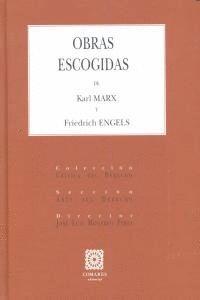 OBRAS ESCOGIDAS DE KARL MARX Y FRIEDRICH ENGELS