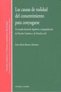 CAUSAS DE NULIDAD DEL CONSENTIMIENTO PARA CONYUGARSE