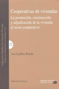 COOPERATIVAS DE VIVIENDAS PROMOCION CONSTRUCCION ADJUDICACI