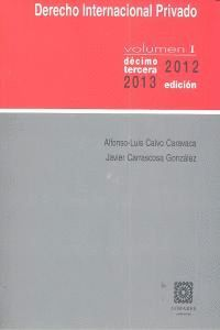 DERECHO INTERN.PRIVADO V.I 13ª 2012-2013