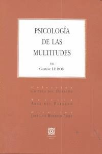 PSICOLOGA DE LAS MULTITUDES
