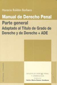 MANUAL DERECHO PENAL PARTE GENERAL