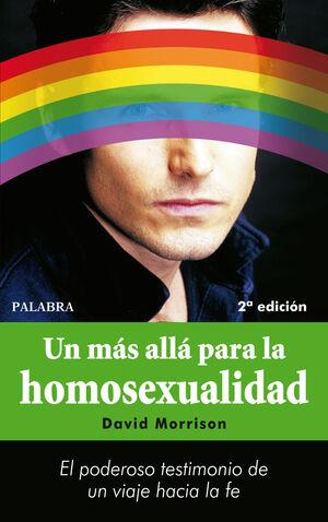 UN MÁS ALLÁ PARA LA HOMOSEXUALIDAD