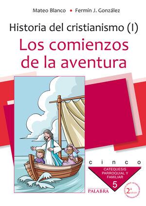 LOS COMIENZOS DE LA AVENTURA. CURSO 5º