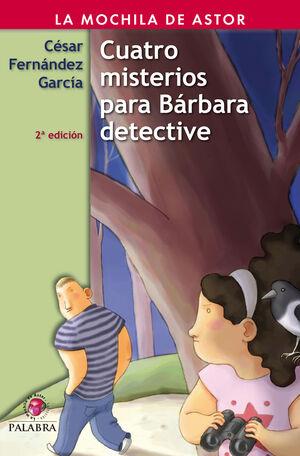 CUATRO MISTERIOS PARA BÁRBARA DETECTIVE