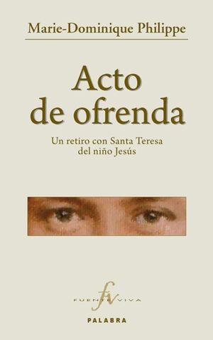 ACTO DE OFRENDA