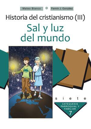 SAL Y LUZ DEL MUNDO. CURSO 7º