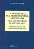 LA PERVIVENCIA DEL DERECHO FORAL VALENCIANO. TRAS LOS DECRETOS DE NUEVA PLANTA