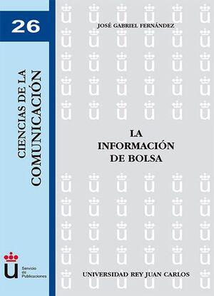 LA INFORMACIÓN DE BOLSA