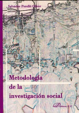 METODOLOGA DE LA INVESTIGACIÓN SOCIAL