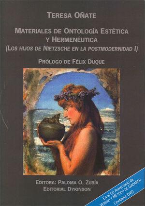 MATERIALES DE ONTOLOGÍA ESTÉTICA Y HERMENÉUTICA.