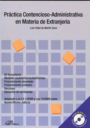 PRÁCTICA CONTENCIOSO-ADMINISTRATIVA EN MATERIA DE EXTRANJERÍA