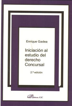 INICIACIÓN AL ESTUDIO DEL DERECHO CONCURSAL