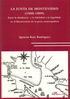 LA JUNTA DE MONTEVIDEO. 1808-1809.