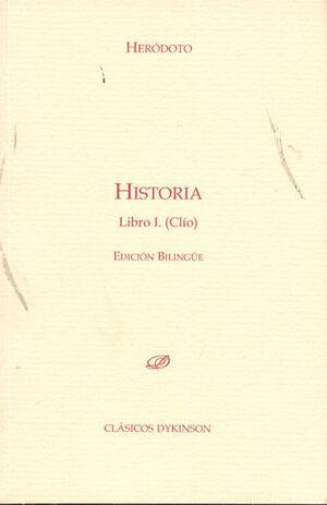 HISTORIA. LIBRO I. CLÍO