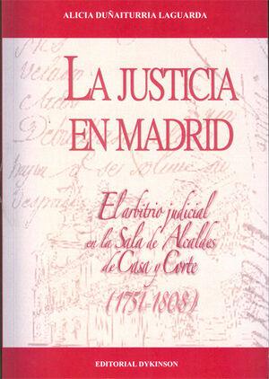 LA JUSTICIA EN MADRID