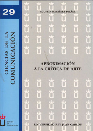 APROXIMACIÓN A LA CRÍTICA DE ARTE