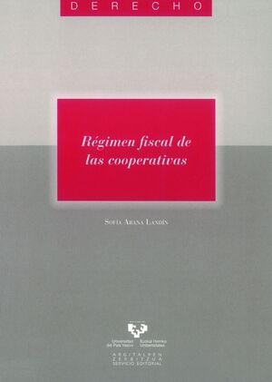 R�GIMEN FISCAL DE LAS COOPERATIVAS