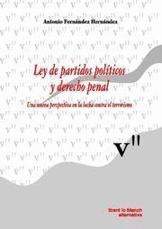 LEY DE PARTIDOS POLTICOS Y DERECHO PENAL