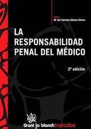 RESPONSABILIDAD PENAL DEL MEDICO, LA