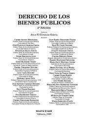 DERECHO DE LOS BIENES PUBLICOS
