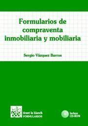 FORMULARIOS DE COMPRAVENTA INMOBILIARIA Y MOBILIARIA