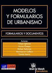 MODELOS Y FORMULARIOS DE URBANISMO FORMULARIOS Y DOCUMENTOS