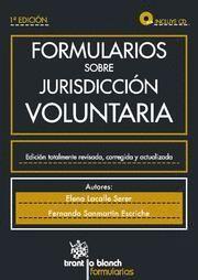 FORMULARIOS SOBRE JURISDICCION VOLUNTARIA