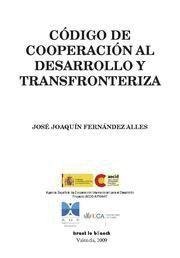 CODIGO DE COOPERACION AL DESARROLLO Y TRANSFRONTERIZA