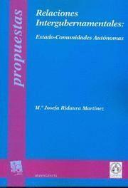 RELACIONES INTERGUBERNAMENTALES ESTADO-COMUNIDADES AUTONOMAS