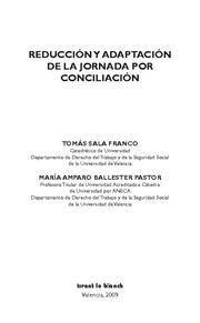 REDUCCION Y ADAPTACION DE LA JORNADA POR CONCILIACION