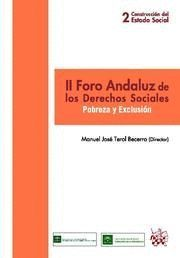 II FORO ANDALUZ DE LOS DERECHOS SOCIALES
