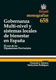 GOBERNANZA MULTI-NIVEL Y SISTEMAS LOCALES DE BIENESTAR EN ESPAÑA EL CASO DE LAS DIPUTACIONES PROVINC