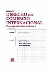 DERECHO DEL COMERCIO INTERNACIONAL (ADAPTADO AL REGLAMENTO ROMA I)