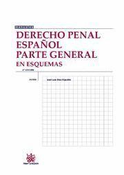 DERECHO PENAL ESPAÑOL. PARTE GENERAL EN ESQUEMAS