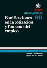 BONIFICACIONES EN LA COTIZACION Y FOMENTO DEL EMPLEO