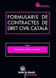 FORMULARIS DE DRET CIVIL CATALA