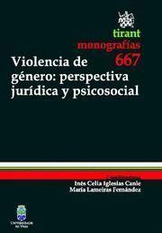 VIOLENCIA DE GENERO PERSPECTIVA JURIDICA Y PSICOSOCIAL
