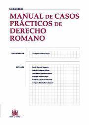 MANUAL DE CASOS PRACTICOS DE DERECHO ROMANO