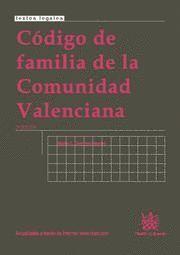 CODIGO DE FAMILIA DE LA COMUNIDAD VALENCIANA