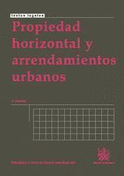 PROPIEDAD HORIZONTAL Y ARRENDAMIENTOS URBANOS
