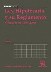 LEY HIPOTECARIA Y SU REGLAMENTO
