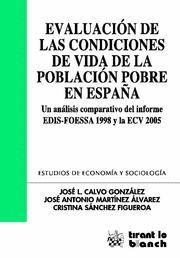 EVALUACION DE LAS CONDICIONES DE VIDA DE LA POBLACION POBRE EN ESPAÑA UN ANALISIS COMPARATIVO DEL IN