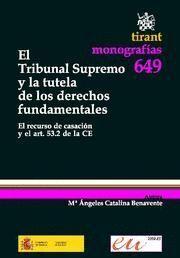 TRIBUNAL SUPREMO Y LA TUTELA DE LOS DERECHOS FUNDAMENTALES, EL EL RECURSO DE CASACION Y EL ART. 53.2